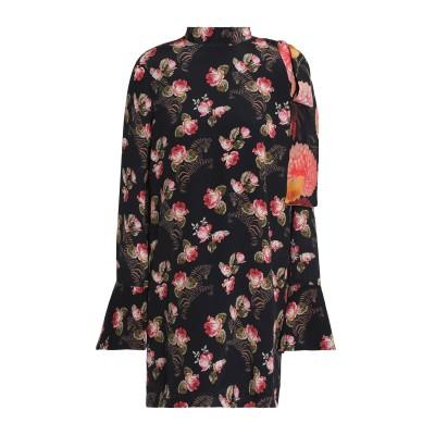 MOTHER OF PEARL ミニワンピース&ドレス ブラック 6 シルク 100% ミニワンピース&ドレス