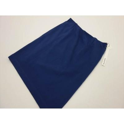 70%OFF 定価¥11,550 訳あり ラディエイト RADIATE ひざ丈 ストレッチタイトスカート 9号 ブルー 後ろ姿美人 メール便可