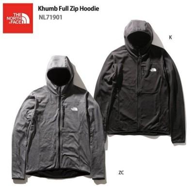 スキー ミドルレイヤー THE NORTH FACE ザ・ノースフェイス インナージャケット 2022 Khumb Full Zip Hoodie/NL71901 21-22 NEWモデル