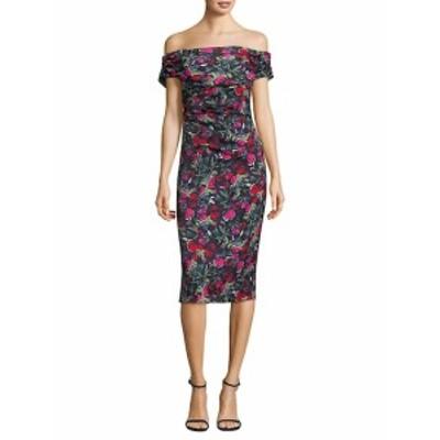 デイビッドマイスター レディース ワンピース Off-the-Shoulder Floral Dress