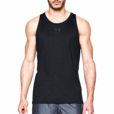 アンダーアーマー タンクトップ Under Armour Baseline Performance Basketball Sleeveless Shirt Black/Stealth Gray