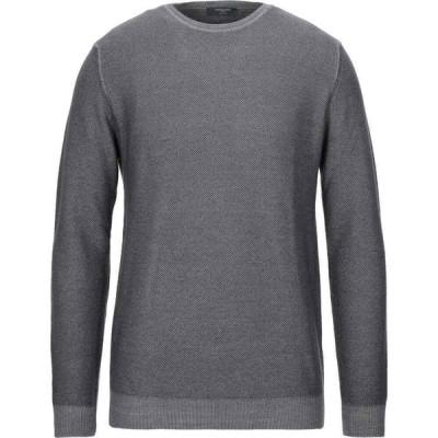 オスバルドブルーニ OSVALDO BRUNI メンズ ニット・セーター トップス Sweater Grey