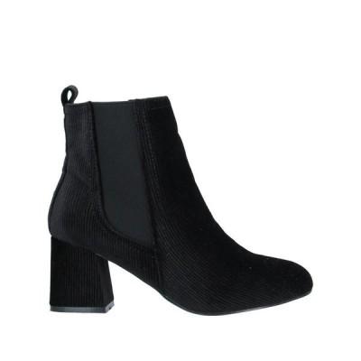 MARIA MARE ショートブーツ  レディースファッション  レディースシューズ  ブーツ  その他ブーツ ブラック