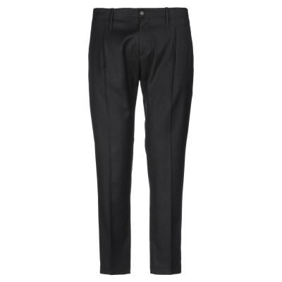 EXIBIT パンツ ブラック 44 ポリエステル 70% / レーヨン 28% / ポリウレタン 2% パンツ