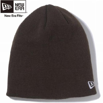 ニューエラ ニットキャップ ベーシック ビーニー チョコレート スノーホワイト New Era Knit Cap Basic Beanie Chocolate White