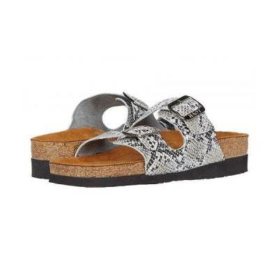 Naot ナオト レディース 女性用 シューズ 靴 サンダル Santa Barbara - Gray Cobra Leather
