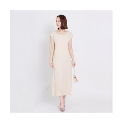 MARTHA(マーサ) ワッフルスリットワンピース (ワンピース)Dress