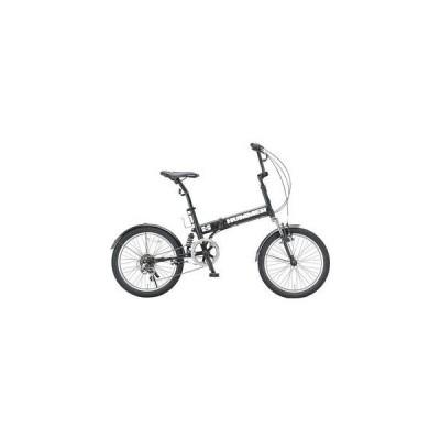 ハマー HUMMER 折畳 自転車 HUMMER-FDB206-MBK マットブラック