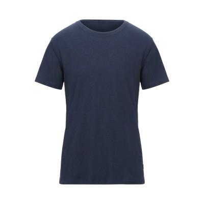 JACK & JONES T シャツ ダークブルー S コットン 80% / リネン 20% T シャツ