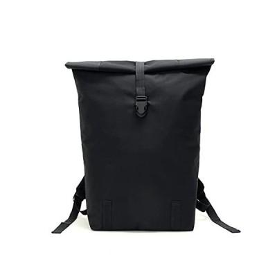 Joefort 保冷 リュック バッグ エコバッグ 防水 大容量 軽量 買い物 アウトドア 釣り (ブラック)