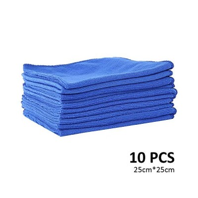 liuzhuo マイクロファイバークロス ふきん 厚手 お掃除タオル 台拭き 吸水 速乾 10枚セット