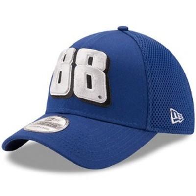 ニューエラ メンズ 帽子 アクセサリー Dale Earnhardt Jr. New Era Nationwide Mega Team Neo 39THIRTY Flex Hat Royal