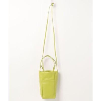 ショルダーバッグ バッグ 【HASHIBAMI/ハシバミ】レクタングル2WAYバッグ