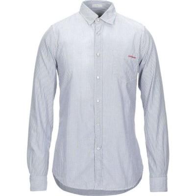 ロイロジャース ROY ROGER'S メンズ シャツ トップス striped shirt Blue