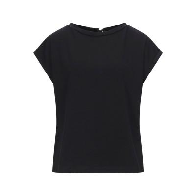 CROCHÈ T シャツ ブラック XS コットン 94% / ポリウレタン 6% T シャツ