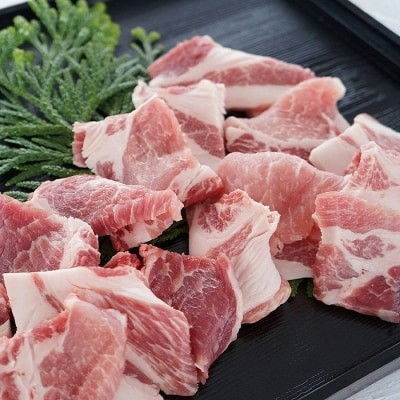 淡路島産豚肉 焼肉用カット 1.1kg◆BG19