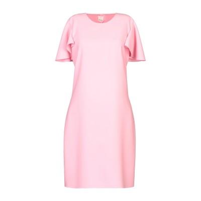ピンコ PINKO ミニワンピース&ドレス ピンク 40 ポリエステル 100% ミニワンピース&ドレス