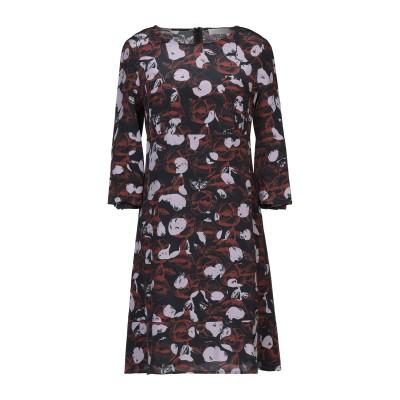 ロートレ ショーズ L' AUTRE CHOSE ミニワンピース&ドレス ブラック 40 シルク 100% ミニワンピース&ドレス