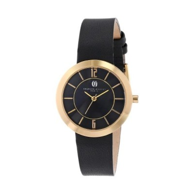 Charles-Hubert, Paris Women's 6944-G Premium Collection Black Dial Watch