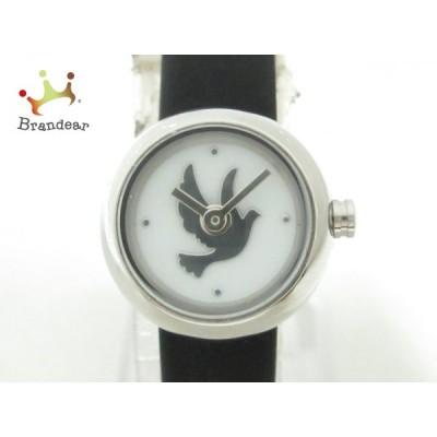 クリオブルー Clioblue 腕時計 美品 レディース 白×シルバー   スペシャル特価 20201030