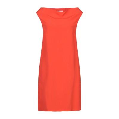 SUOLI ミニワンピース&ドレス オレンジ 38 レーヨン 100% ミニワンピース&ドレス