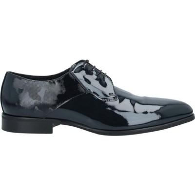 カルロ ピグナテーリィ チェリモーニャ CARLO PIGNATELLI CERIMONIA メンズ シューズ・靴 laced shoes Dark blue