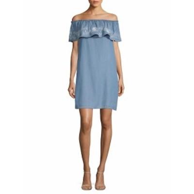 ビーチランチラウンジ レディース ワンピース Off-The-Shoulder Short-Sleeve Dress