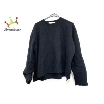 ルシェルブルー LE CIEL BLEU 長袖セーター サイズ36 S レディース 黒 新着 20200409
