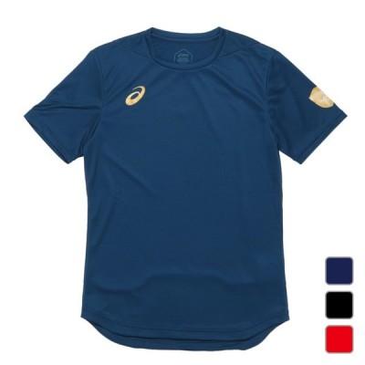 アシックス メンズ レディース バレーボール 半袖Tシャツ EL グラフィックSSトップ 2051A108 asics