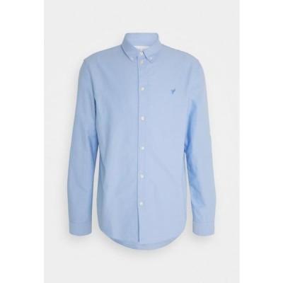 ピアワン メンズ ファッション Shirt - blue