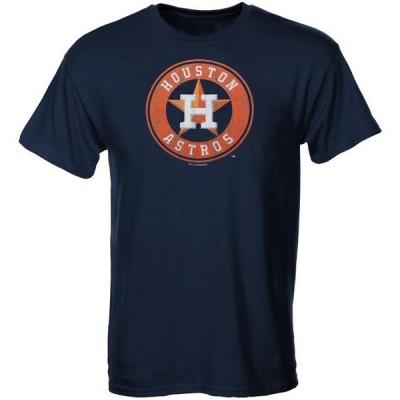 キッズ スポーツリーグ メジャーリーグ Houston Astros Youth Distressed Logo T-Shirt - Navy Blue Tシャツ