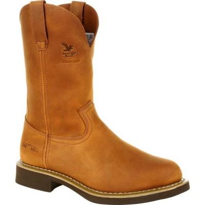 ジョージアブーツ Georgia Boot メンズ ブーツ ウェリントンブーツ シューズ・靴 Carbo-Tec Wellington prairie chestnut