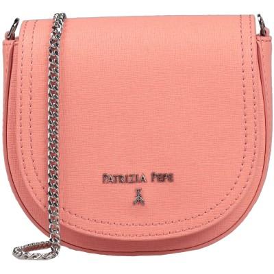 パトリツィア ペペ PATRIZIA PEPE メッセンジャーバッグ サーモンピンク 革 メッセンジャーバッグ