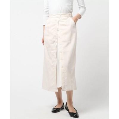 スカート T/R/Puツイル プリーツ切替スカート