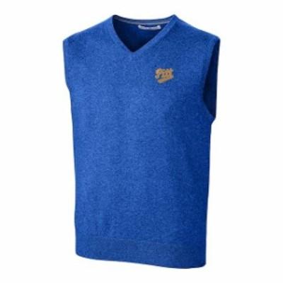 Cutter & Buck カッター アンド バック スポーツ用品  Cutter & Buck Pitt Panthers Blue Lakemont Vault Logo Vest