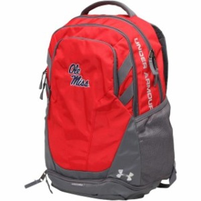 Under Armour アンダー アーマー スポーツ用品  Under Armour Ole Miss Rebels Red Hustle 3.0 Performance Backpack