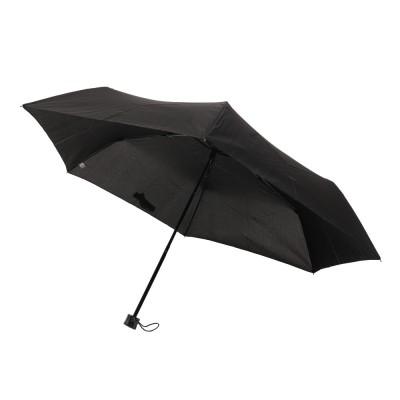サエラアウトドア折りたたみ傘 55cm 50-50BLKブラック