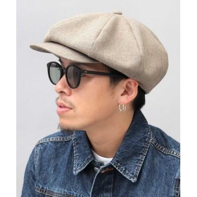 A.M.S. / 【 Mr.COVER / ミスターカバー 】 日本製 ビッグフォルム キャスケットハンチング MEN 帽子 > キャスケット