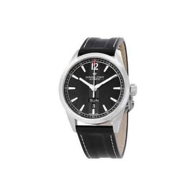 腕時計 ハミルトン メンズ Hamilton Broadway Day Date Automatic Black Dial Men's Watch H43515735