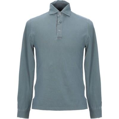ヘリテイジ HERITAGE メンズ ポロシャツ トップス polo shirt Grey
