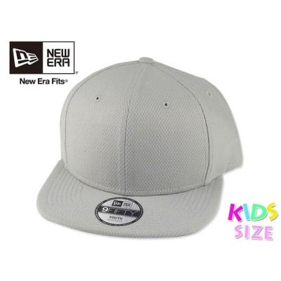 ☆NEWERA【ニューエラ】NE304 Diamond Era Youth Snapback Cap Grey ダイアモンドエラ ユース スナップバック キャップ グレー 16398
