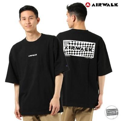 AIRWALK エアウォーク 0273-4801A メンズ 半袖 Tシャツ ムラサキスポーツ限定 HH1 D6