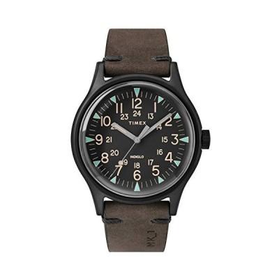 腕時計 タイメックス メンズ TW2R96900 TIMEX Brown Leather Watch-TW2R96900