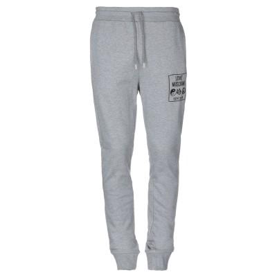 ラブ モスキーノ LOVE MOSCHINO パンツ グレー XL コットン 100% / ポリウレタン パンツ