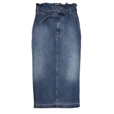 OTTOD'AME デニムスカート ブルー S コットン 100% デニムスカート