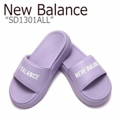 ニューバランス サンダル New Balance レディース SD1301ALL PURPLE パープル NBRJ9S180L シューズ