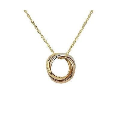 [四葉のクローバー] 10金 ペンダント ネックレス K10 10k ホワイトゴールド イエローゴールド ピンクゴールド レディース 女性