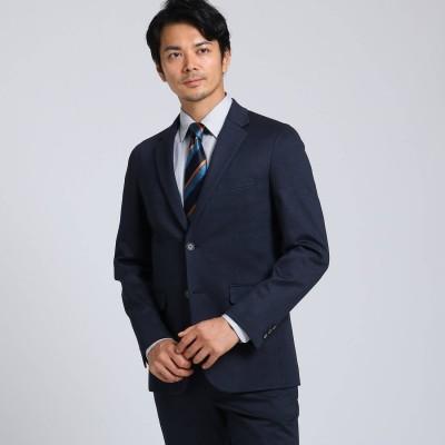 タケオ キクチ TAKEO KIKUCHI 絣ジャージ ジャケット (ネイビー)