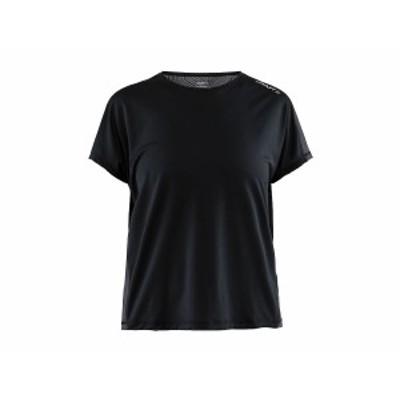 クラフト:【レディース】Eaze SS Ringer Tee【CRAFT スポーツ フィットネス 半袖 Tシャツ】 【191013】
