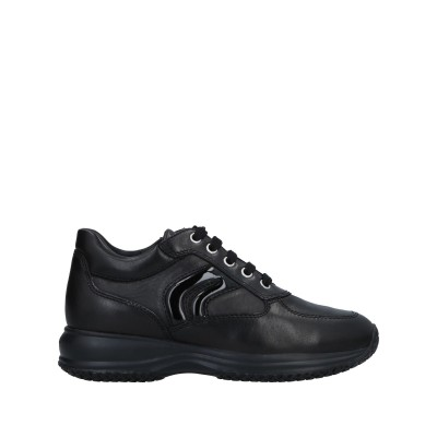 ジェオックス GEOX スニーカー&テニスシューズ(ローカット) ブラック 37.5 革 スニーカー&テニスシューズ(ローカット)